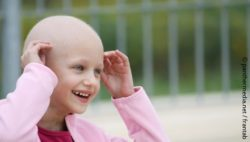 Image: Child suffering from cancer; Copyright: panthermedia.net / frantab
