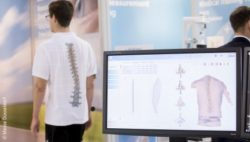 Image: Motion analysis at a trade fair stand; Copyright: Messe Düsseldorf